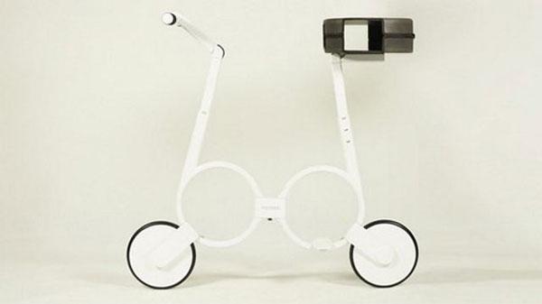 Hình ảnh Xe đạp điện tí hon, gấp gọn vào ba lô số 2